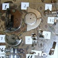 Отдается в дар Детали для швейных машин