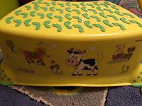 Отдается в дар стул-подставка детский