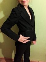 Отдается в дар Школьный брючный костюм для девочки