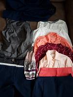 Отдается в дар Брюки, юбки, блузки, пиджаки на 44-46р