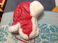 Отдается в дар Зимняя шапка для девочки