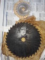 Отдается в дар Диски металлические пильные