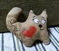 Отдается в дар кофейная кошка