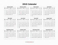 Отдается в дар Календарь настенный на 2019