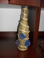 Отдается в дар Бутылочка декоративная