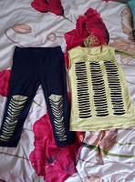 Отдается в дар Летний костюм на девочку 10-11 лет