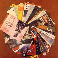Отдается в дар Рекламные открытки