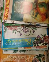 Отдается в дар Схемы для вышивки картин, вышиванок, рушников