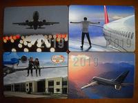Отдается в дар календарики с самолетами