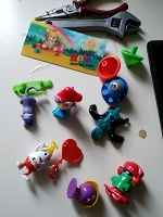 Отдается в дар Киндеры и другие игрушки
