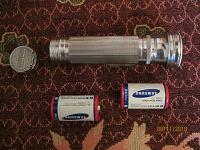 Отдается в дар Фонарик на батарейках – в умелые ручки