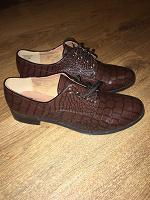 Отдается в дар Туфли — ботинки 39 размер