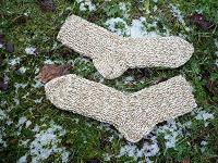 Отдается в дар Вязаные носки.