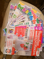 Отдается в дар Журналы «Вышиваю крестиком» 2011г