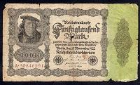 Отдается в дар Германия. 50000 марок 1922 года.
