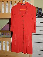 Отдается в дар Красное платье-рубашка