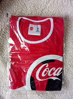 Отдается в дар Футболка Coca-Cola