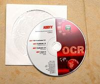 Отдается в дар Диск с демонстрационными версиями программ ABBYY