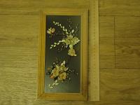 Отдается в дар Картина из ракушек в рамке