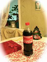 Отдается в дар Coca- Cola classic