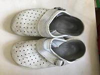 Отдается в дар Тапочки медичні взуття медичне біле шкіряне