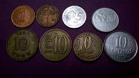 Отдается в дар 8 монет для девочек