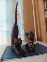 Отдается в дар кошки деревянные