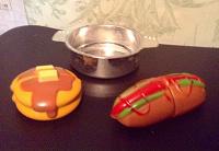 Отдается в дар Посудка с едой(игрушка)