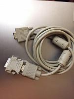 Отдается в дар Кабель VGA-VGA+ 2 переходника