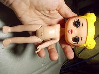 Отдается в дар Куколка без ручки