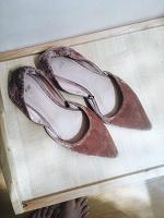 Отдается в дар Балетки с острым носком H&M 39р