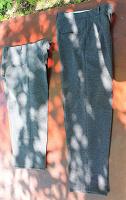 Отдается в дар брюки школьные.