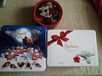 Отдается в дар Баночки из под печенья и конфет.