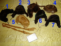 Отдается в дар Меховые шапки-ушанки