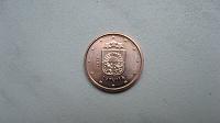 Отдается в дар 1 евроцент 2014 Латвия