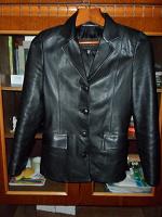 Отдается в дар Пиджак кожаный