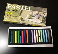Отдается в дар Для творчества: пастель, грифель