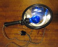 Отдается в дар Синяя лампа