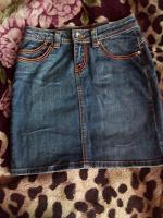 Отдается в дар Джинсовая юбка- состояние новой