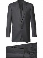 Отдается в дар костюм мужской серый