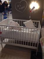 Отдается в дар Кроватка для новорожденного Икеа