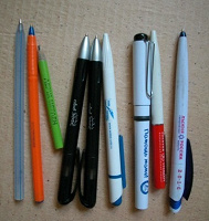 Отдается в дар ручки, карандаши в коллекцию