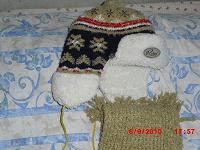 Отдается в дар шапка+шарф для мальчика 5-6 лет