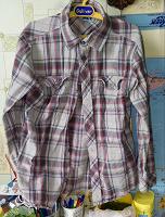 Отдается в дар Рубашка лля мальчика 8-9лет, рост138
