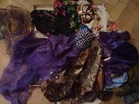 Отдается в дар Шарфики-косынки на х/м и для ношения.