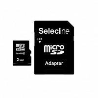 Отдается в дар Карта памяти microSD 2гб с адаптером