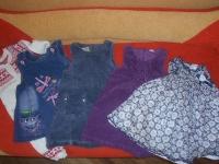 Отдается в дар Пакет одежды для девочки р. 74
