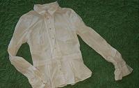 Отдается в дар Белая рубашка Zolla