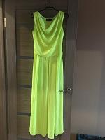 Отдается в дар Нарядное платье в пол 44 размер