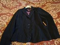 Отдается в дар Пиджак черный, размер 50-52